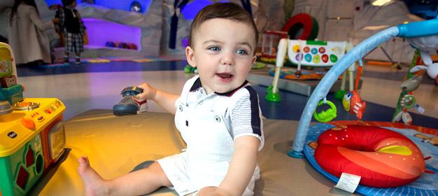 Los bebés también pueden hacer un crucero y cuentan con servicios adaptados a ellos. Foto MSC Cruceros