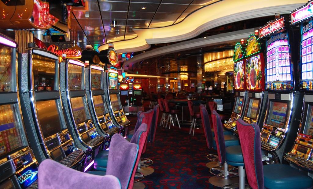 Vista del Casino del Oasis of the Seas