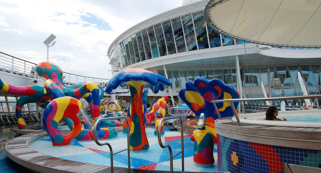 Oasis of the Seas en fotos: Aquapark