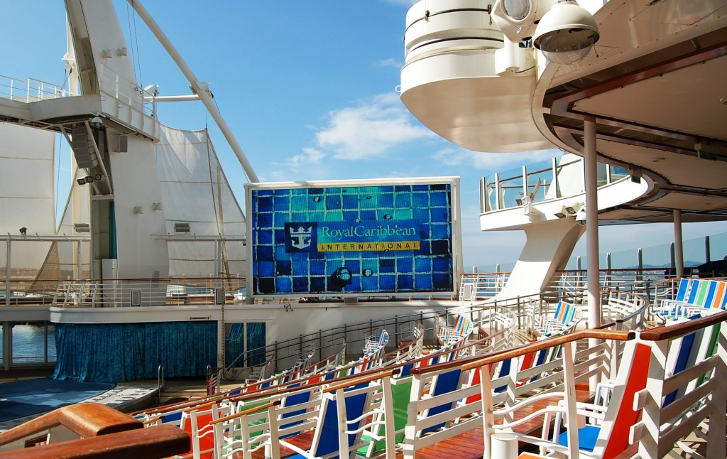 Aquatheater en el Oasis of the Seas