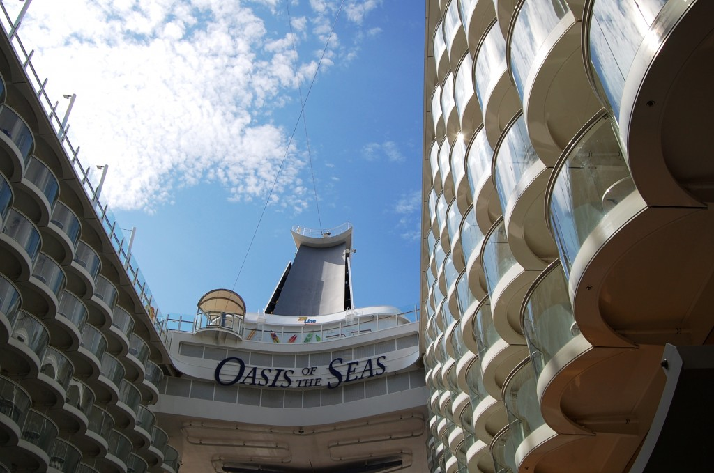 Vista interior Oasis of the Seas