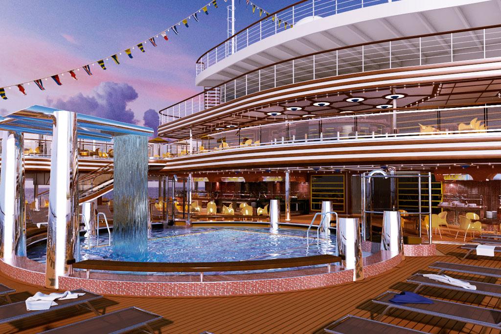 26526b27d El Costa Diadema es una de las mejores opciones que ofrecen Costa Cruceros  y Miramar Cruceros para pasar unas Navidades inolvidables.