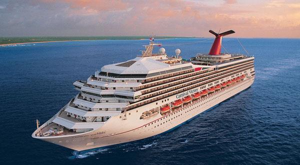 Crucero de Carnival Cruise Line. Foto web Carnival Corporation