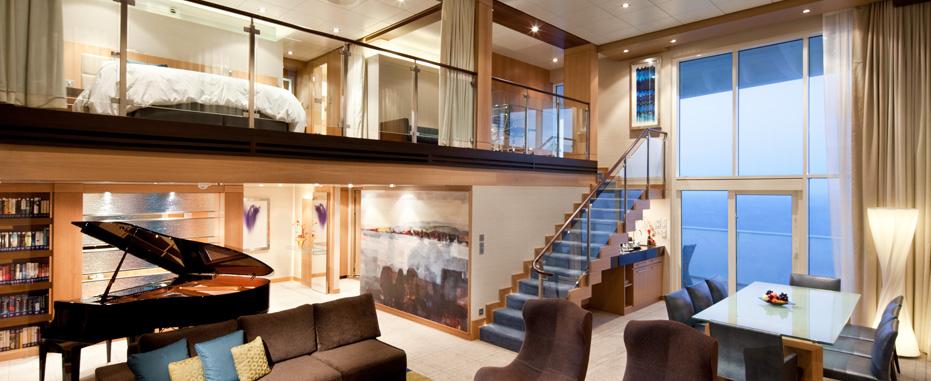 Camarote a bordo del Allure of the Seas. Foto de Royal