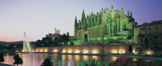 Vista de la Catedral de Palma. Foto web Spain.info