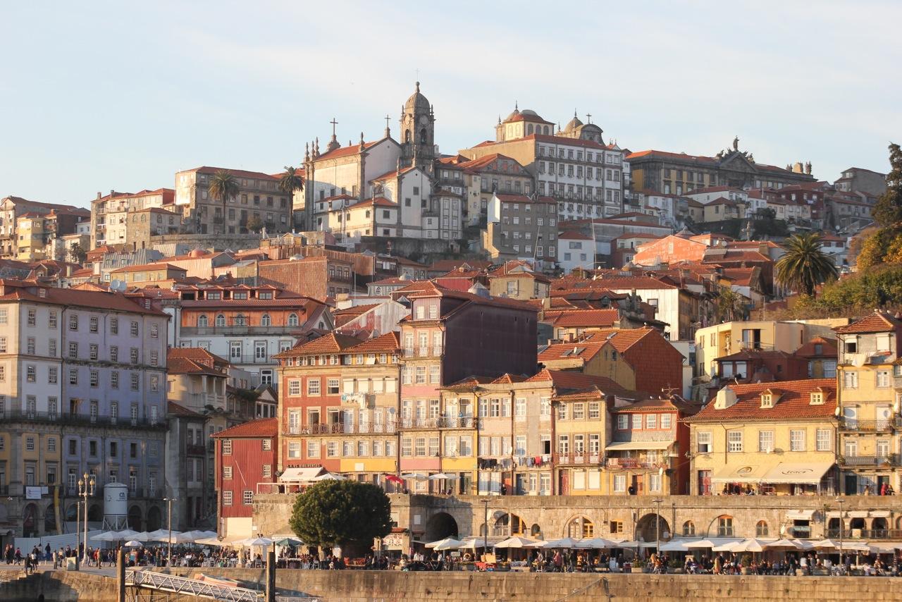 Vista de Porto, la segunda ciudad más grande de Portugal. Foto Alberto Ribas