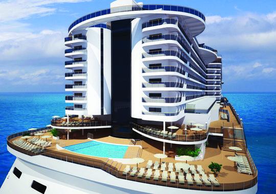 El nuevo MSC Seaside de MSC Cruceros