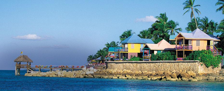 Las Bahamas son un destino espectacular para los cruceros por el Caribe en invierno. Foto web Royal Caribbean