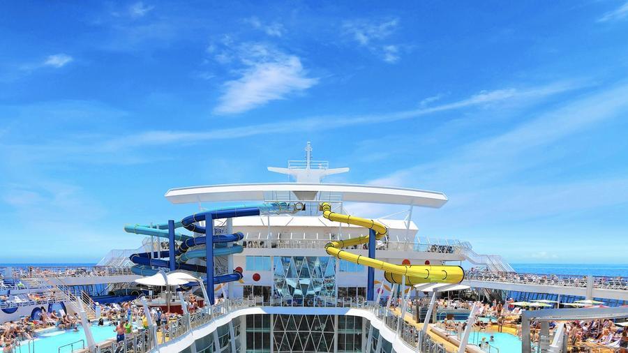 Royal Caribbean contará con un nuevo barco de cruceros en 2016, el Harmony of the Seas. Foto web Royal Caribbean