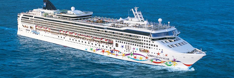 Vista del Norwegian Star de NCL. Foto web Norwegian Cruise Line