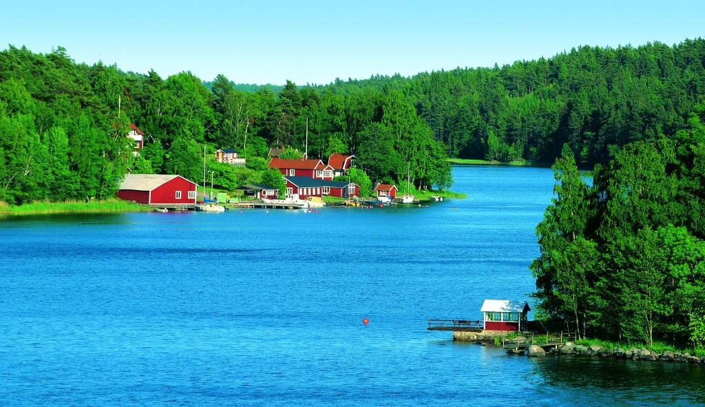 Vista de Estocolmo, punto de partida del crucero por las Capitales Bálticas
