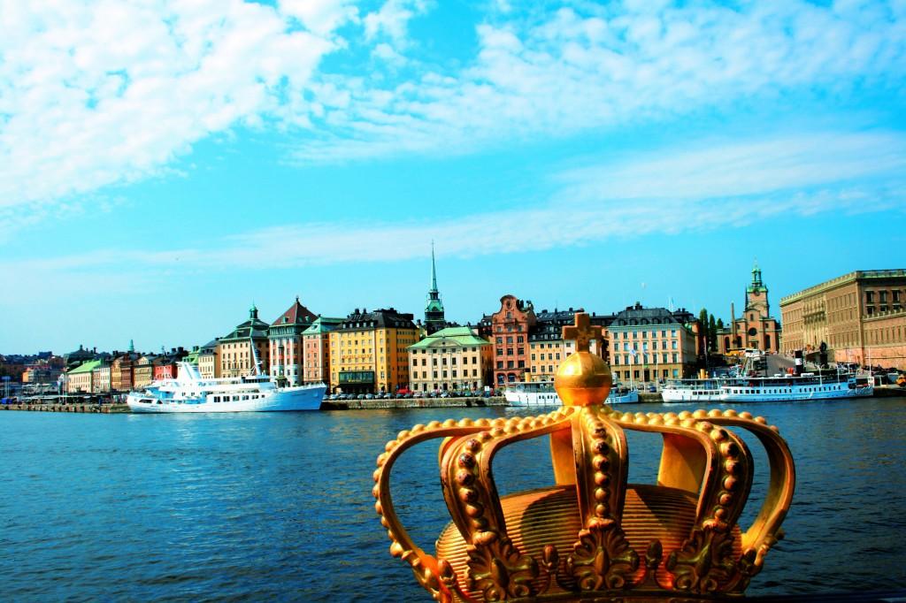 Estocolmo, escala del crucero por el Norte de Europa
