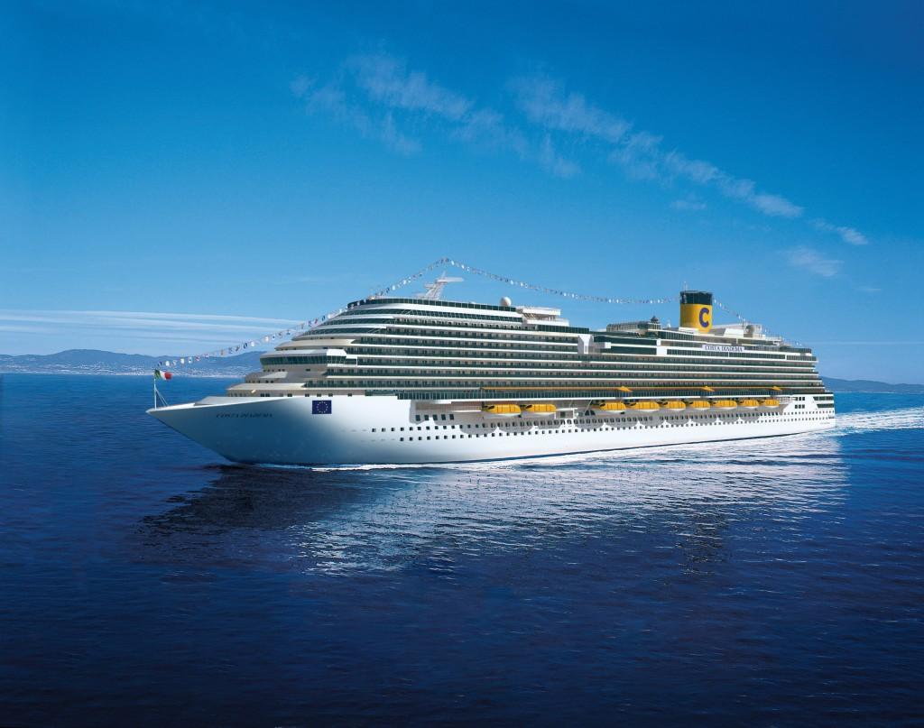 crucero por el Mediterráneo en el Costa Diadema de Costa Cruceros