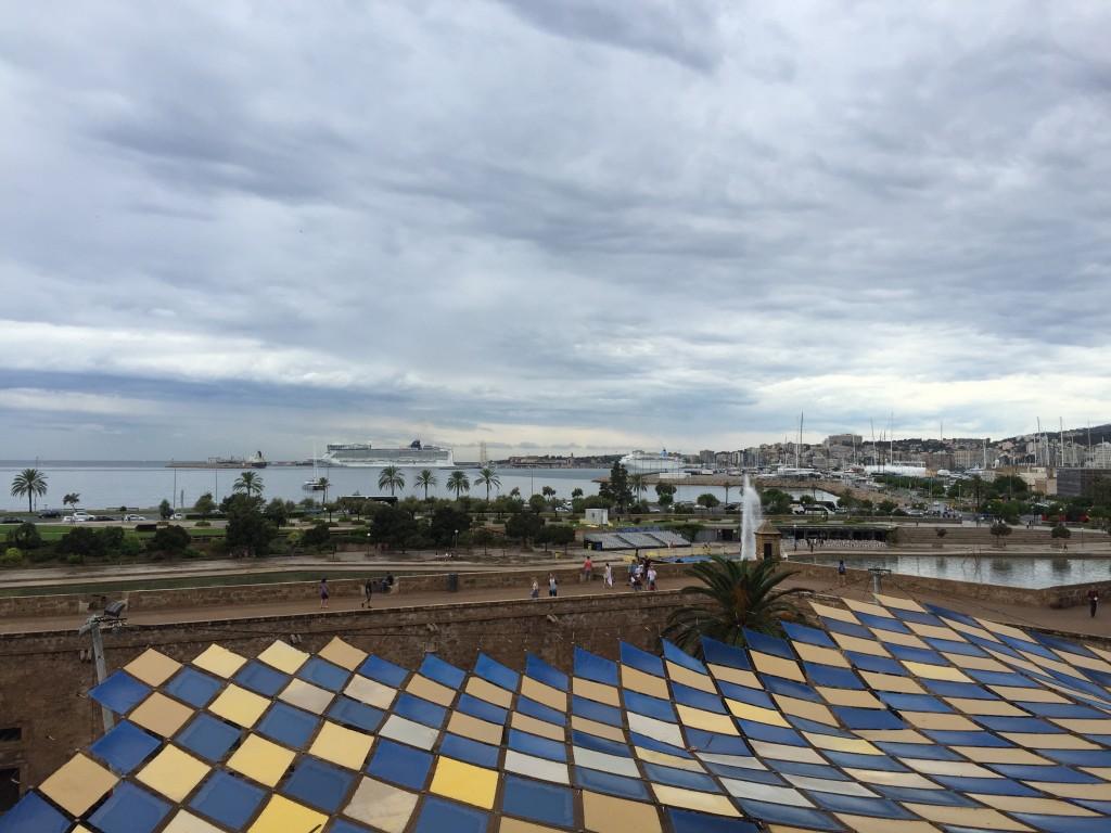 Vista de la escala en Palma de Mallorca