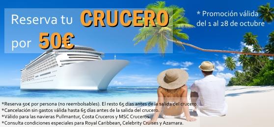 Ya puedes reservar tu crucero por solo 50 euros con Miramar Cruceros