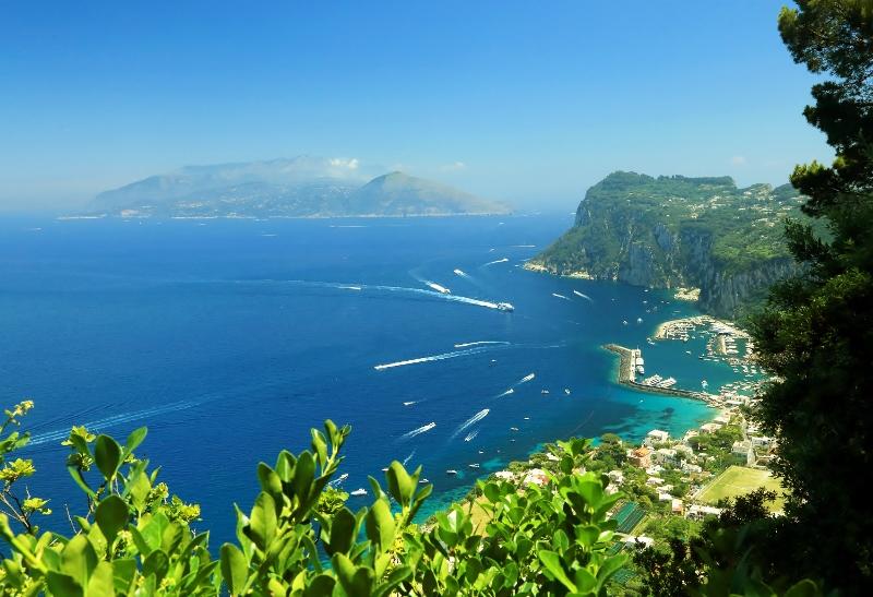Capri, escala en este crucero por el Mediterráneo