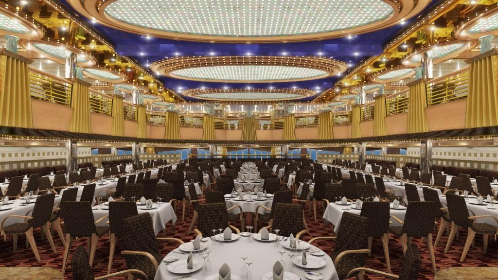 crucero-costa-diadema-Ristorante- Sissi