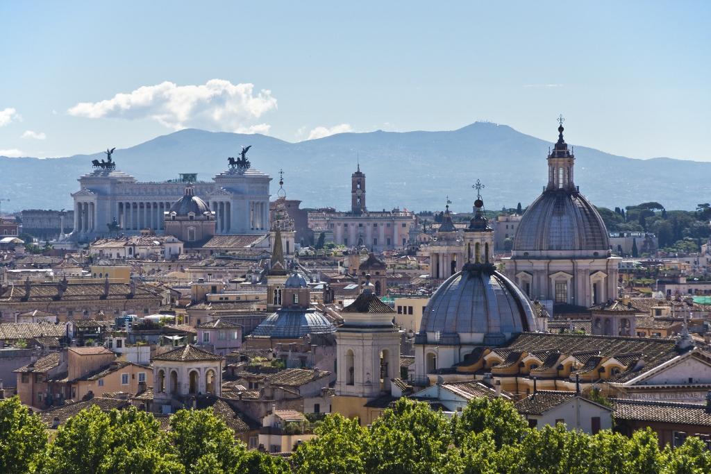 Vista de la escala en Civitavecchia, Roma de esta oferta de Crucero en Navidad