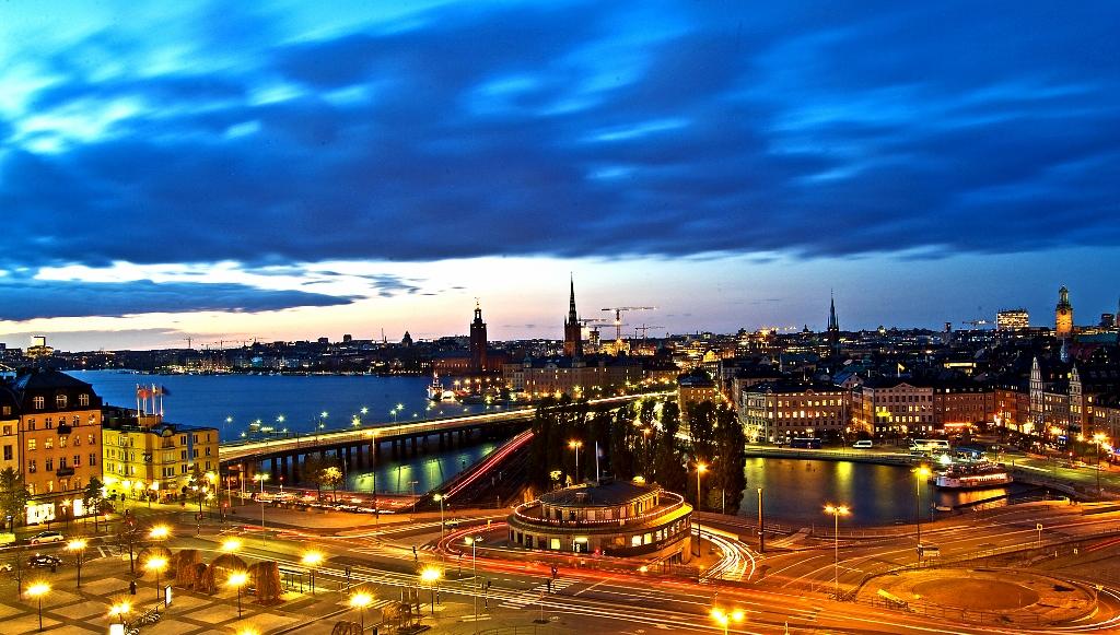 Crucero por las Capitales Bálticas en 2016 con Pullmatur vista Estocolmo