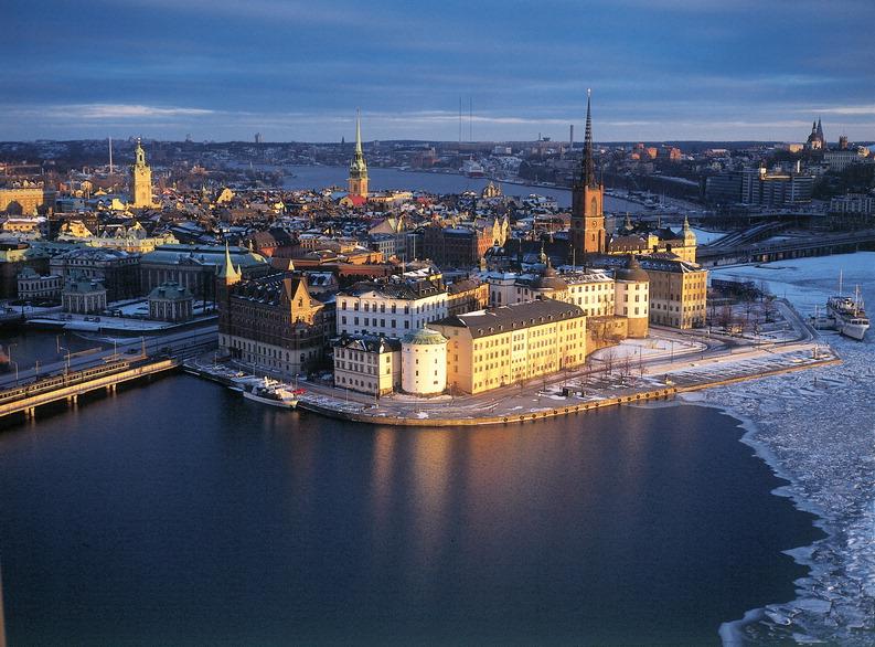 Crucero por el Báltico en 2016 Estocolmo