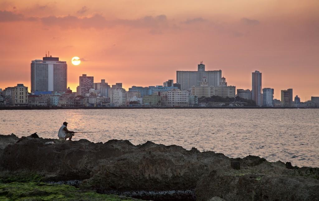 Crucero por el Caribe desde Barcelona. Vista del malecón en La Habana