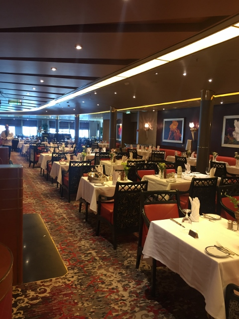 Fotos del ms Eurodam de Holland America Line restaurante