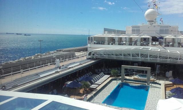 Fotos del ms Eurodam de Holland America Line piscina