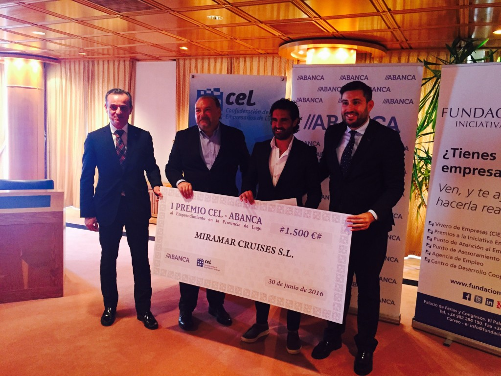 Miramar Cruises galardonada con el I Premio CEL-ABANCA