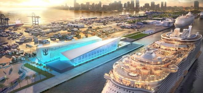 El Symphony of the Seas de Royal Caribbean navegará desde Barcelona en 2018. Así serán los nuevos barcos de cruceros que se estrenan en 2018