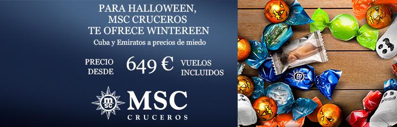 promoción Wintereen de MSC Cruceros
