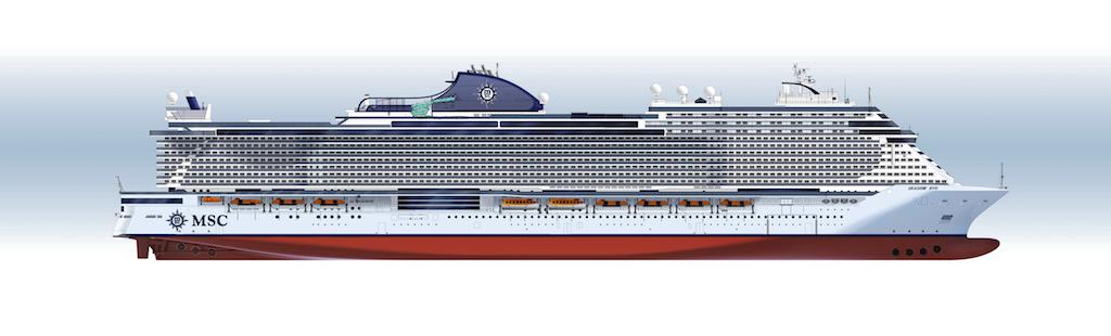 Seaside evo nuevos barcos MSC Cruceros