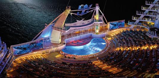 estrenar el Symphony of the Seas de Royal Caribbean