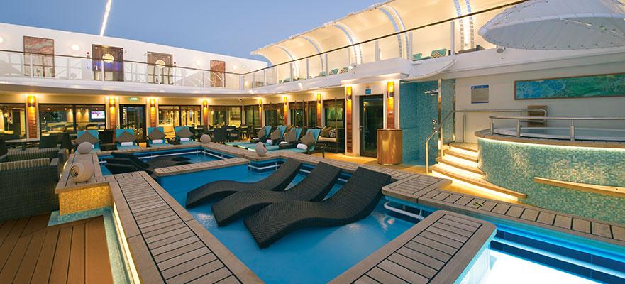 Un barco dentro de otro barco: crucero en The Haven Suite by Norwegian Cruise Line