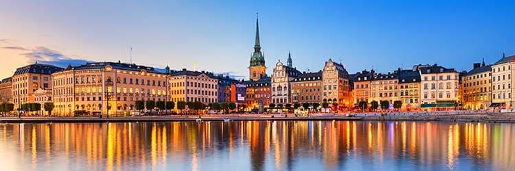 Crucero por el Báltico desde Estocolmo o crucero por el Mediterráneo desde Barcelona con Costa Cruceros
