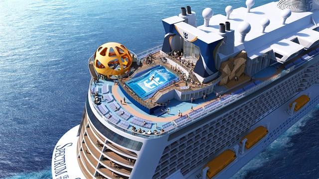 Así será el nuevo Spectrum of the Seas de la clase Quantum Ultra de Royal Caribbean