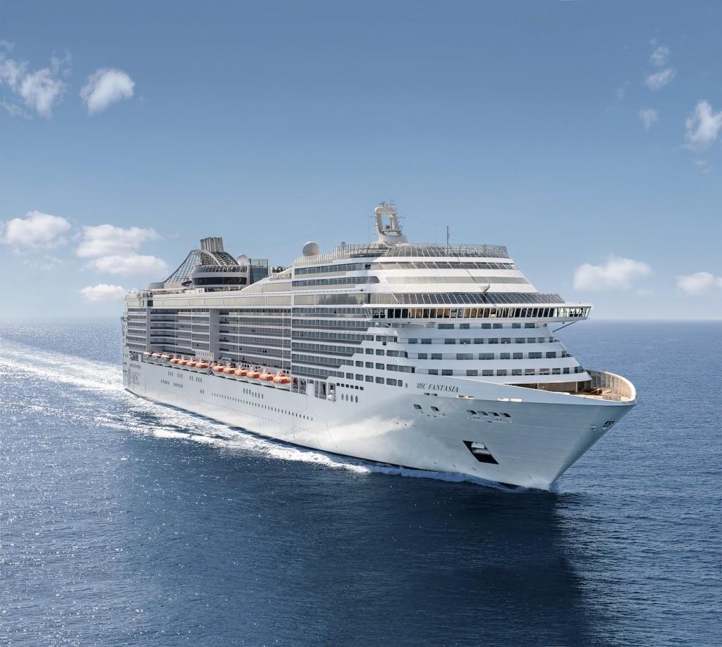 Nuevo itinerario de crucero por el Mediterráneo en el MSC Fantasia por la Costa Amalfitana, Capri y Pompeya