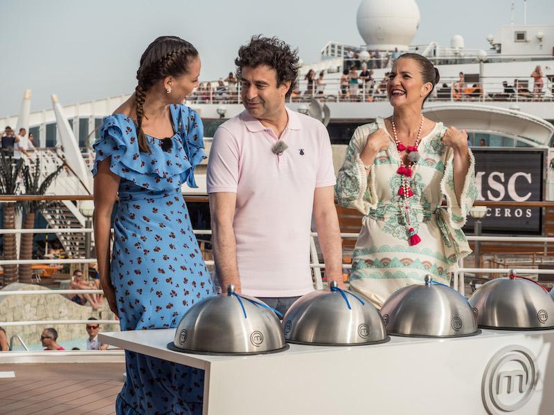 Masterchef Celebrity en el MSC Fantasia de MSC Cruceros