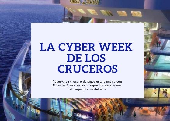 Cyber Week 2019 con Royal Caribbean