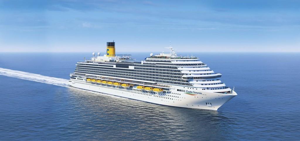 Crucero inaugural del Costa Venezia de Costa Cruceros de Trieste a Tokio en marzo 2019